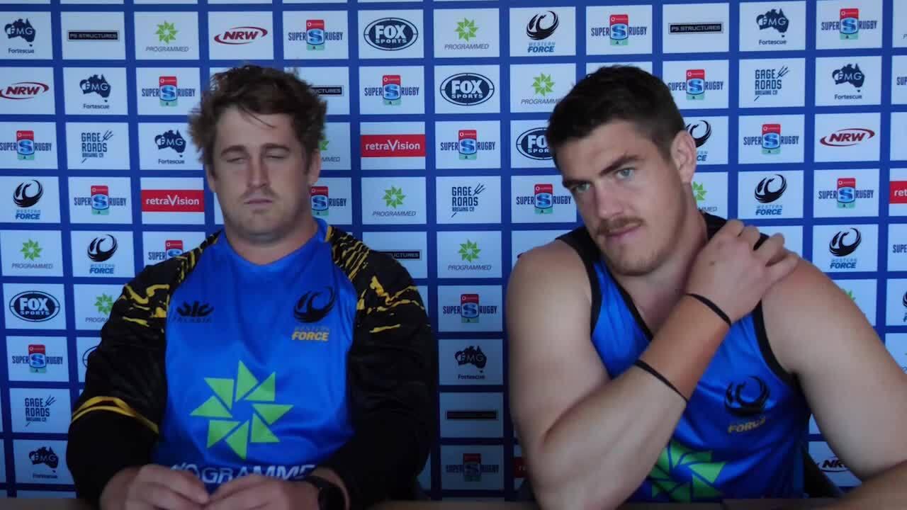 Western Force media briefing - Super Rugby AU week eight