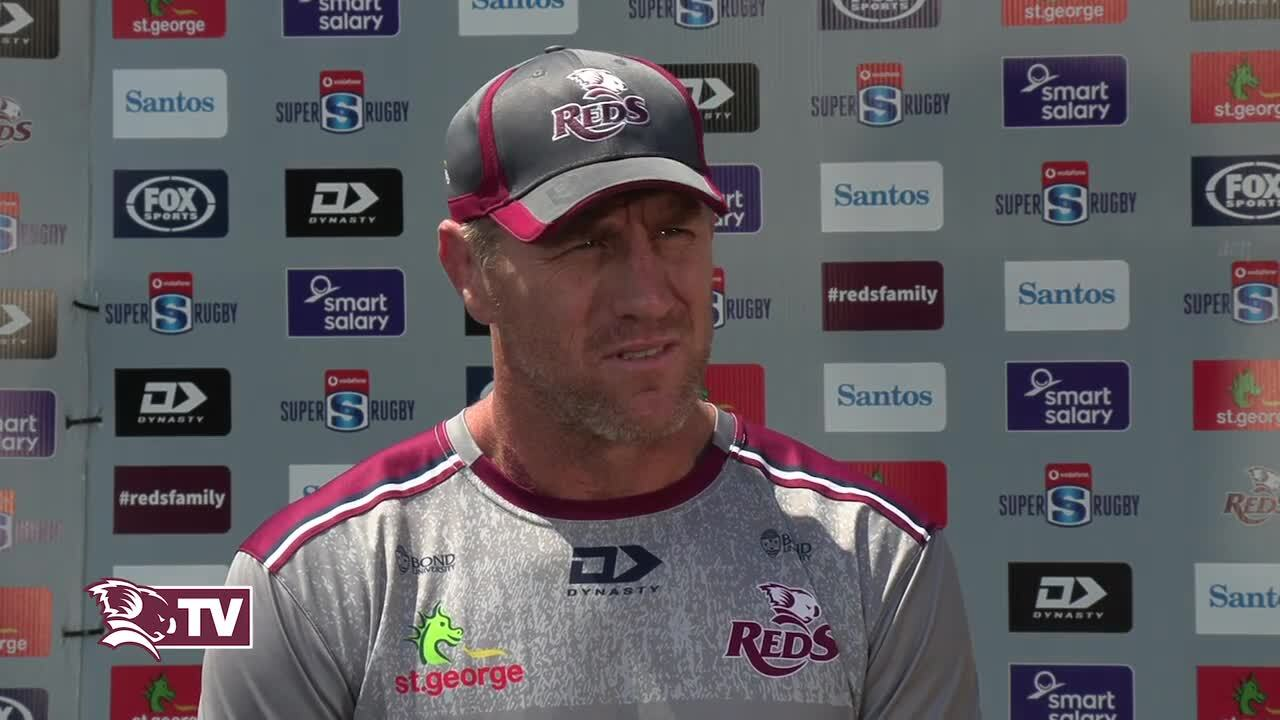 Reds coach Brad Thorn interview - Super Rugby AU Final