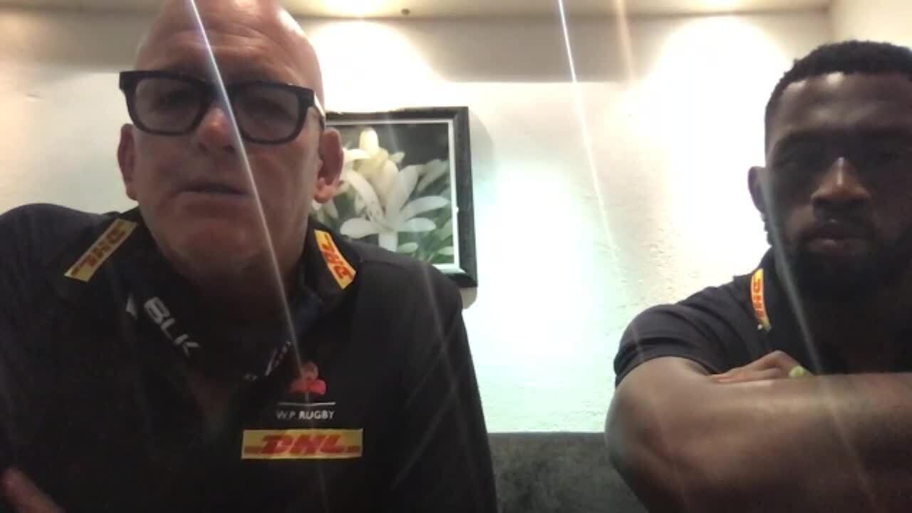 John Dobson & Siya Kolisi pre-match presser - Pumas Round Three