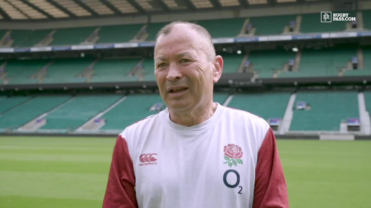 Eddie Jones on how rugby will return to England