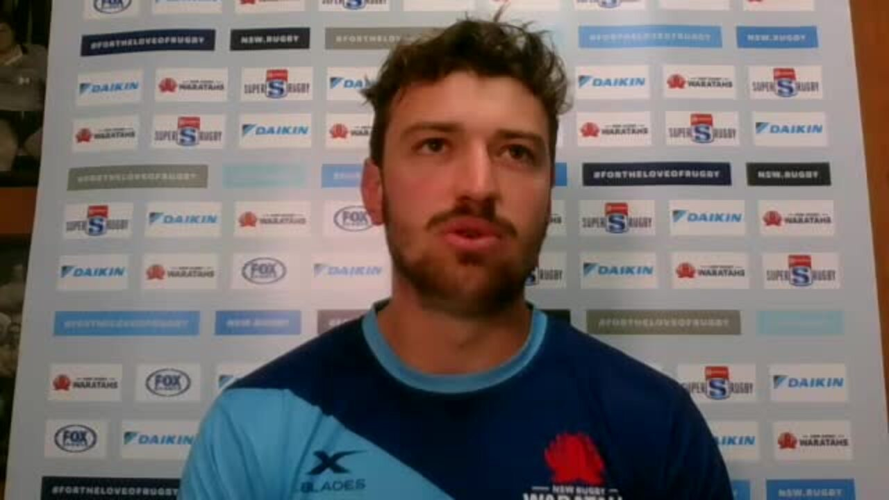 James Ramm interview - Waratahs v Force week seven