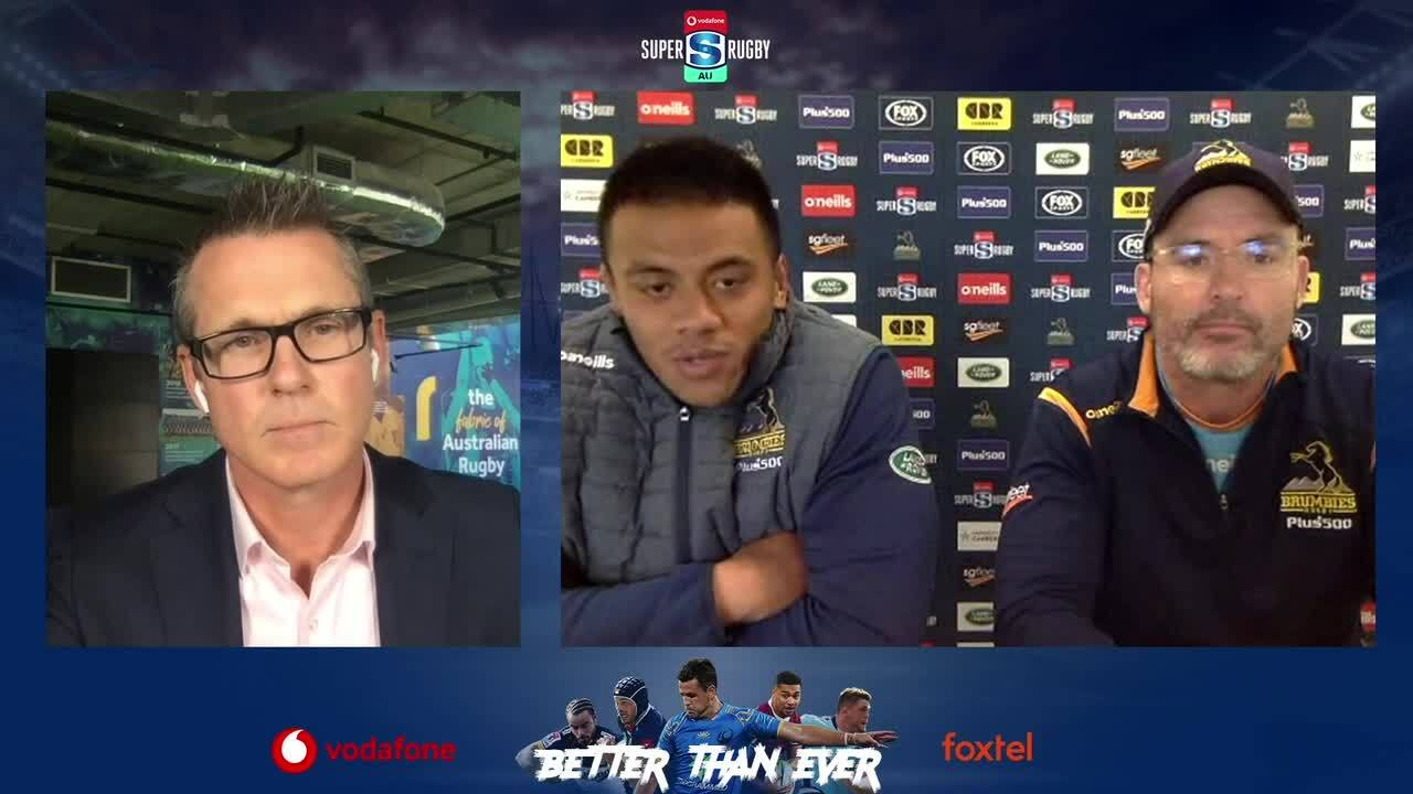 Super Rugby AU media call