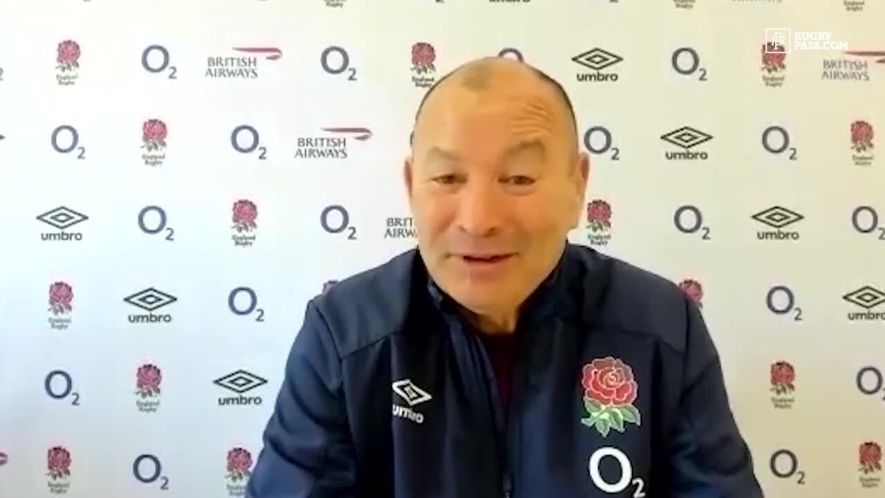 Eddie Jones looks ahead to Autumn Nations Cup final