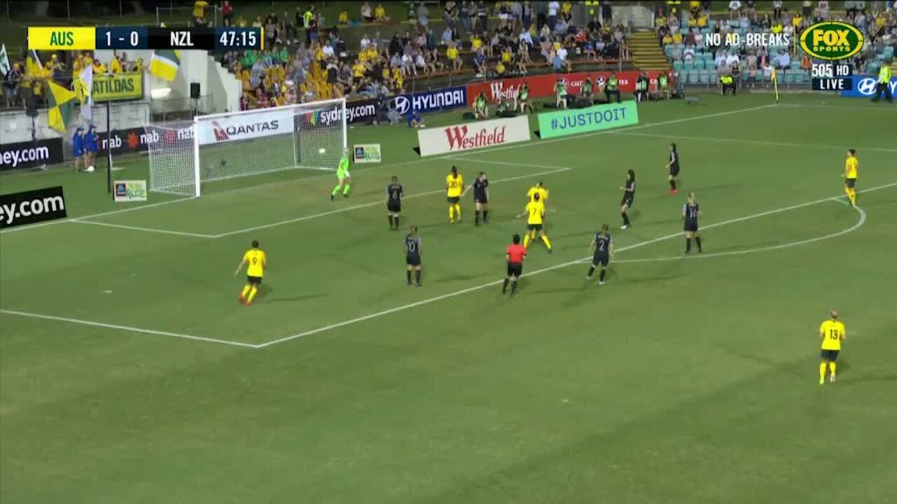 Australia Women v New Zealand Women - Matildas Match Centre
