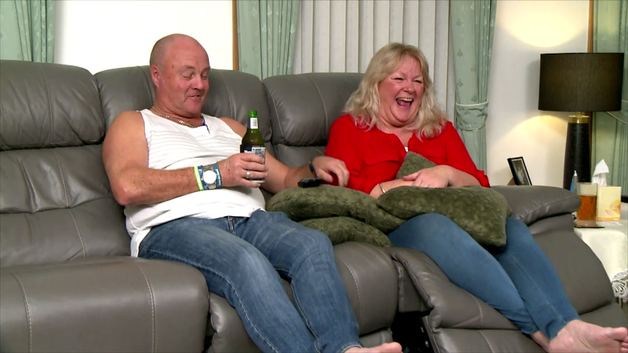 Thumbnail of Gogglebox extras: The Goggleboxers are confronted with a dog dilemma