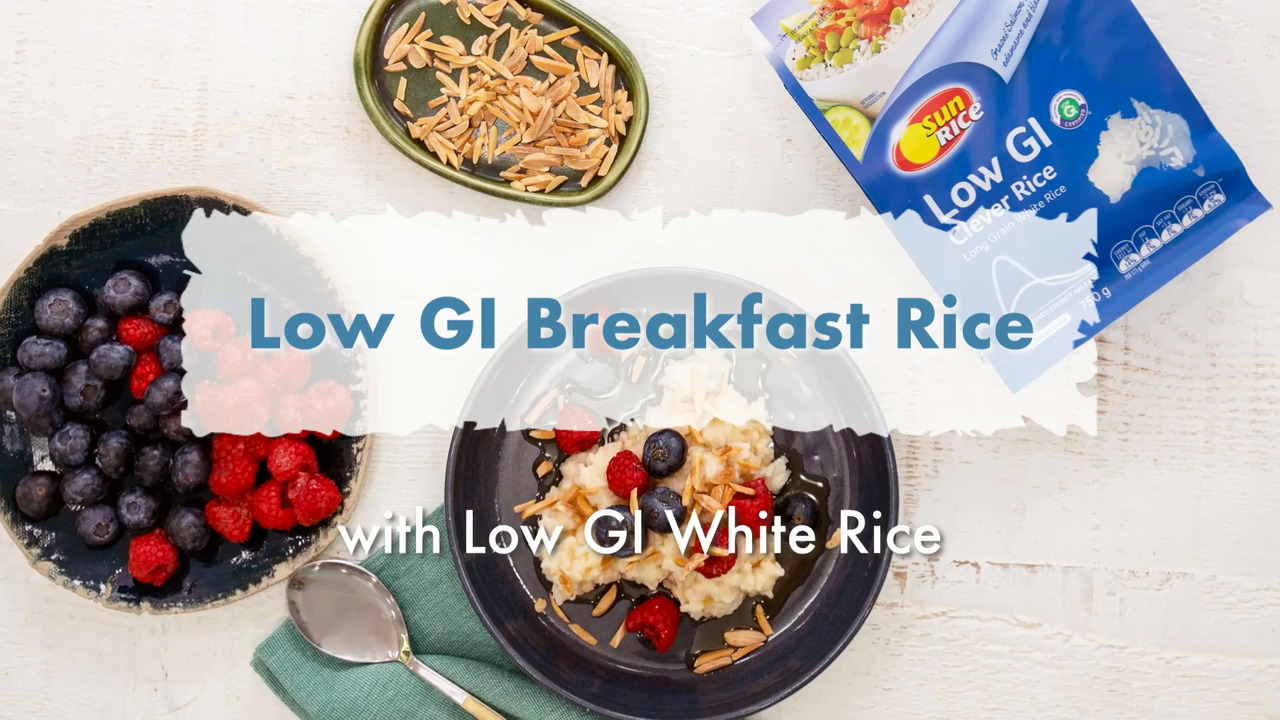 Thumbnail of SunRice low GI breakfast rice