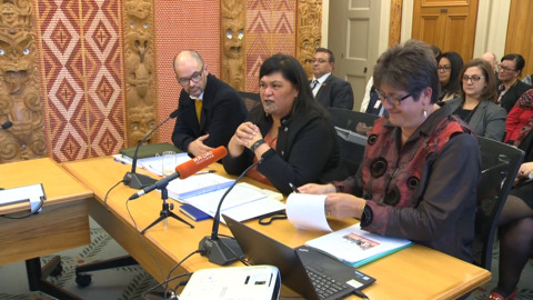 Video for Te Puni Kōkiri CEO fronts for select committee for last time