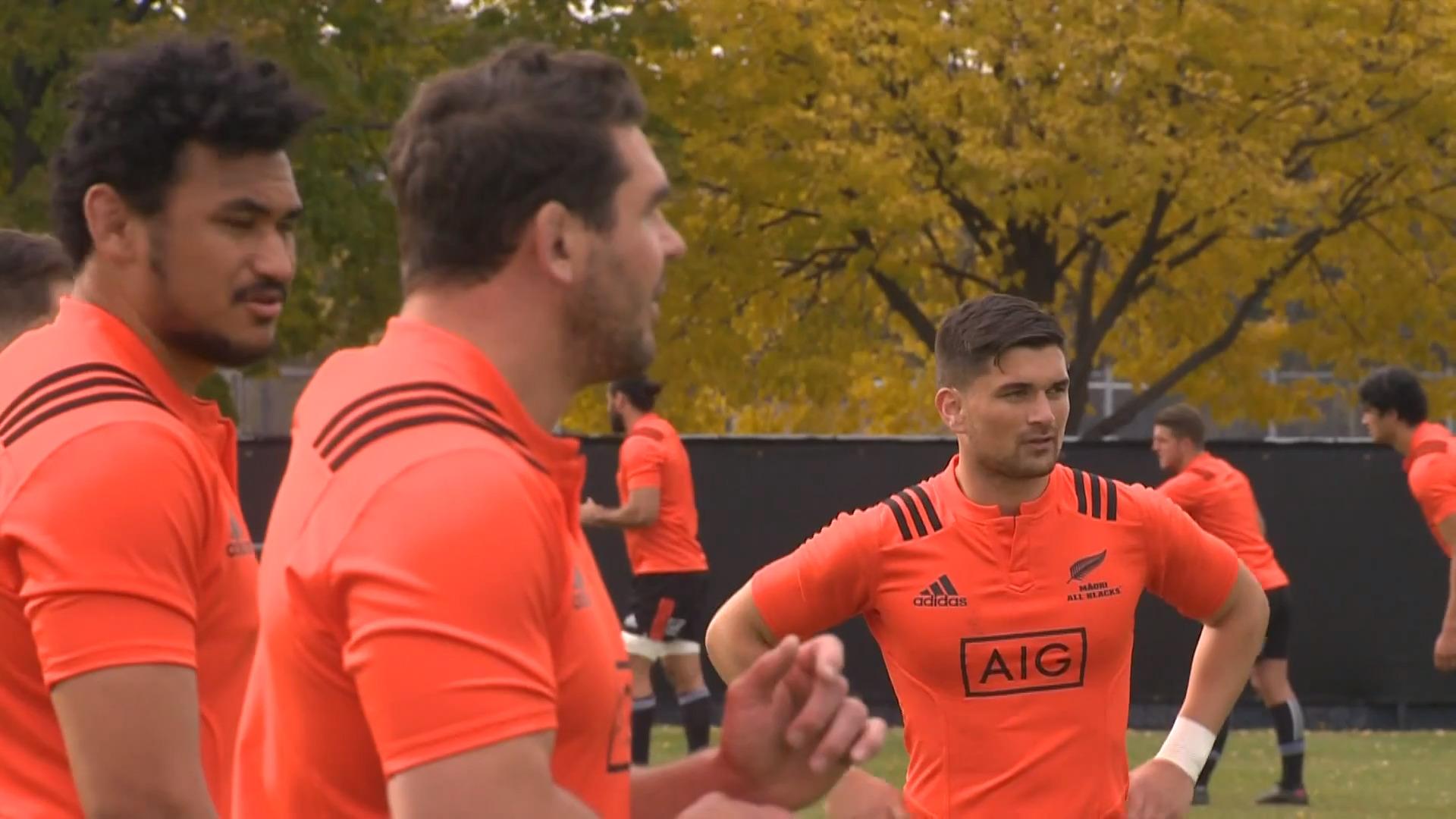Video for Māori All Blacks make Chicago their new home