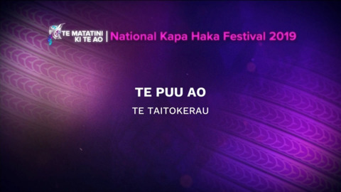Video for 2019 Te Matatini, Te Puu Ao, Full Bracket,