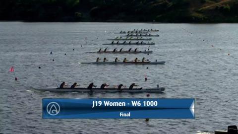 Video for 2020 Waka Ama Sprints - J19 Women - W6 1000 Final