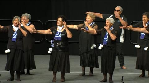 Video for 2020 Kapa Haka Regionals, Ngā Taikura o Tūwharetoa, Waiata-ā-ringa