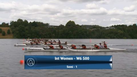 Video for 2020 Waka Ama Sprints - Int Women - W6 500 - Semi 1 / 2