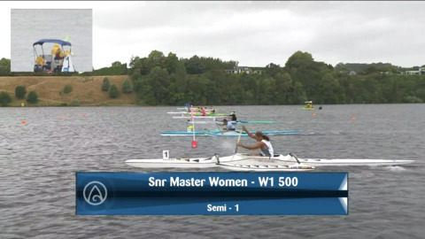 Video for 2021 Waka Ama Championships - Snr Master Women - W1 500 Semi 1/2
