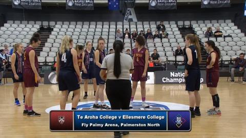 Video for Schick Basketball Champs 2018, Te Aroha College v Ellesmere College Prelim SF1