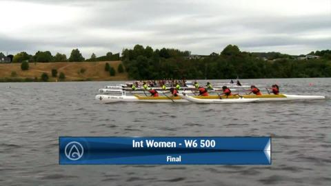 Video for 2020 Waka Ama Sprints - Int Women - W6 500 Final