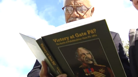 Video for Book shines new light on the battle of Pukehinahina