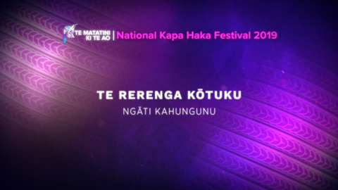 Video for Te Matatini ki te Ao 2019, Episode 23