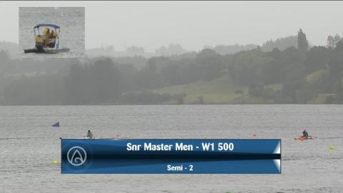 Video for 2021 Waka Ama Championships - Snr Master Men - W1 500 Semi 2/2