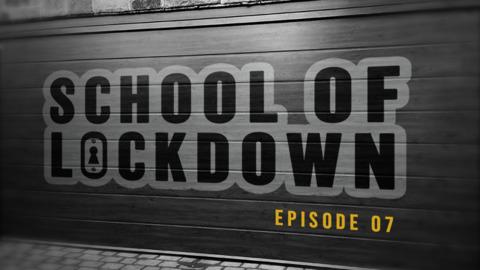 Video for School of Lockdown, Te hangi me te paraoa parai!