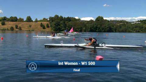 Video for 2020 Waka Ama Sprints - Int Women - W1 500 Final
