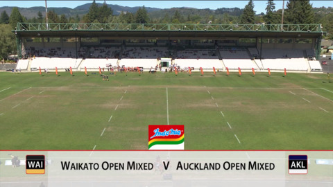 Video for 2019 Bunnings National Touch Champs, Open Mixed Final, Waikato vs Auckland