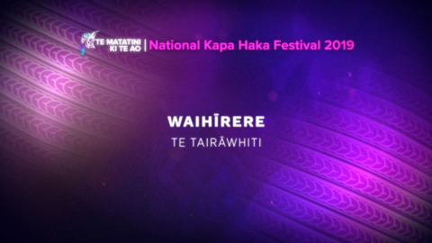 Video for Te Matatini ki te Ao 2019, Episode 31