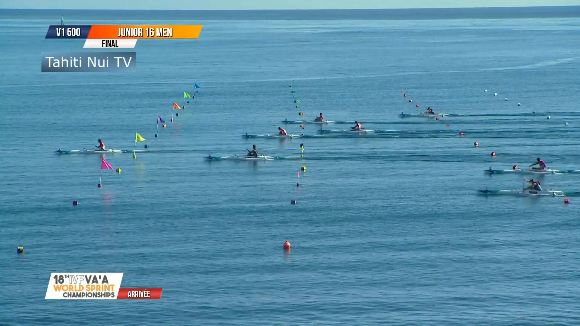 Video for Golden day for NZ at Tahiti Waka Ama Worlds
