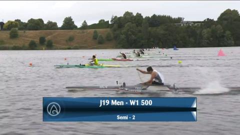 Video for 2021 Waka Ama Championships - J19 Men - W1 500 Semi 2/2
