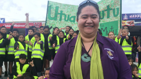 "Video for ""I was considering giving up the job"" - Otara Tumuaki"