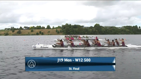 Video for 2021 Waka Ama Championships - J19 Men - W12 500 St. Final