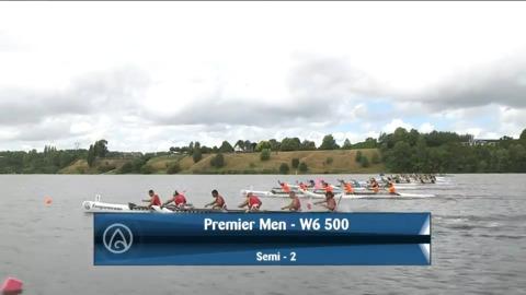 Video for 2021 Waka Ama Championships - Premier Men - W6 500 Semi 2/2
