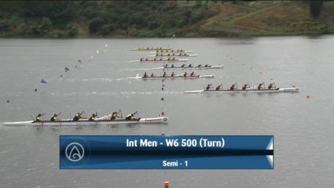 Video for 2021 Waka Ama Championships - Int Men - W6 500 (Turn) Semi 1/2