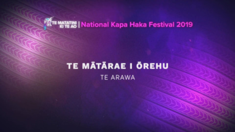 Video for Te Matatini ki te Ao 2019, Ūpoko 44