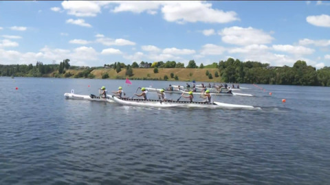 Video for 2019 Waka Ama Sprints - Apadtive Mixed - W6 500 St.Final