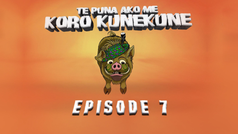 Video for Te Puna Ako me Koro Kunekune, Episode 7