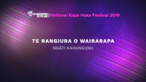 Video for Te Matatini ki te Ao 2019, Episode 41