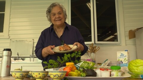 Video for Kuia urges kaumātua to eat raw veges for their immune system