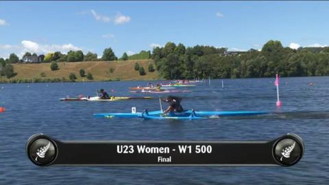 Video for 2019 Waka Ama Sprints - U23 Women - W1 500 Final