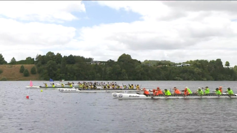 Video for 2021 Waka Ama Championships - Gld Master Women - W12 500 St. Final