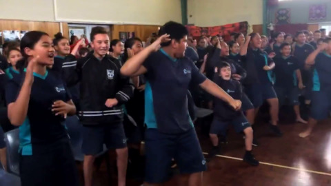 Video for Waikato-Tainui contributes $100,000 to KidsCan