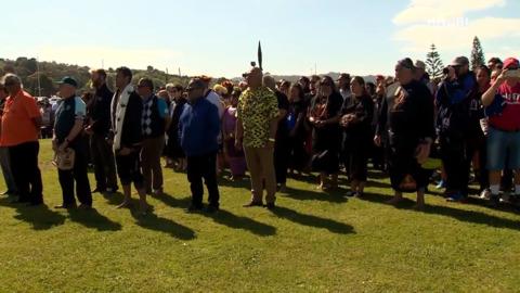 Video for Ngāti Wai welcome Tuia 250 flotilla to Whangārei