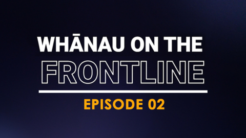 Video for Whānau on the Frontline, Kevin