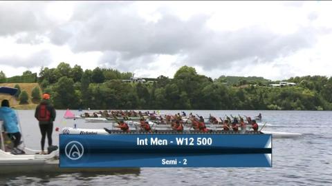 Video for 2021 Waka Ama Championships - Int Men - W12 500 Semi 2/2