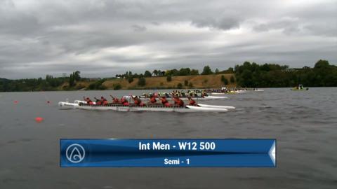 Video for 2020 Waka Ama Sprints - Int Men - W12 500 Semi 1 / 2