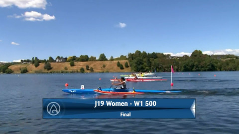 Video for 2020 Waka Ama Sprints - J19 Women - W1 500 Final