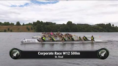 Video for 2019 Waka Ama Sprints - Corporate race W12 500 St.Final