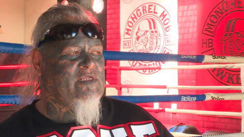 Video for Dennis Makalio: 'Stop connecting abuse of women to the Mongrel Mob'