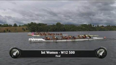 Video for 2019 Waka Ama Sprints - Int Women - W12 500 Final