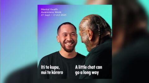 Video for Mental Health Awareness Week focuses on 'Taking the time to kōrero'