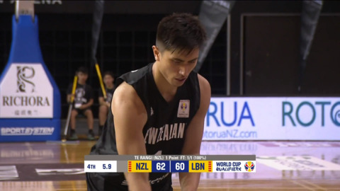 Video for Tall Blacks leave it late in Rotorua